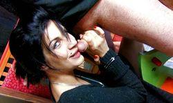 Scène porno dans une boutique, la vendeuse braquée et baisée